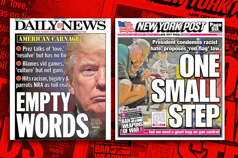 Rupert Murdoch's New York Post keeps calling for an assault weapons ban