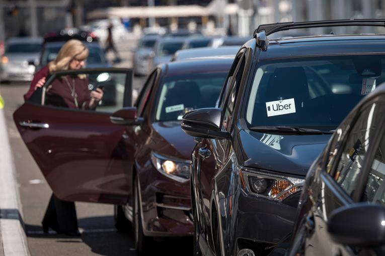 Uber stock falls after $5.2 billion loss