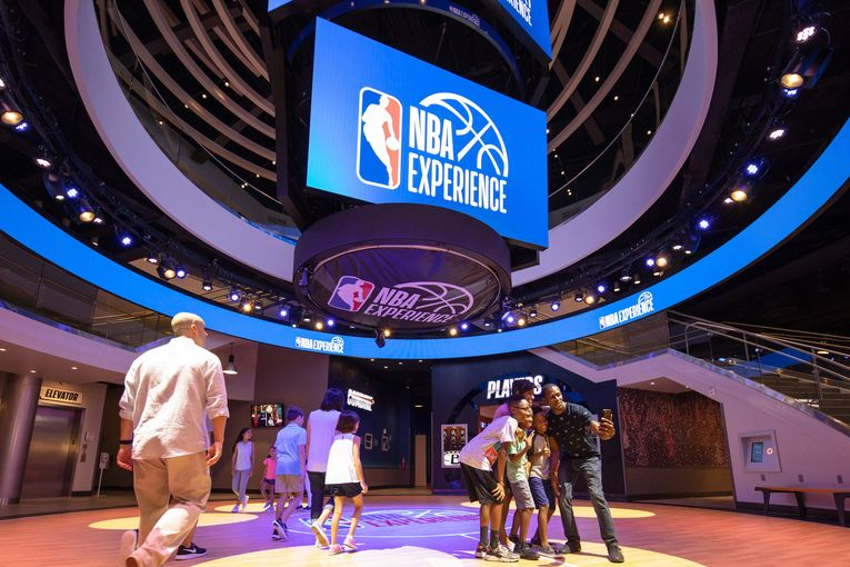 The NBA and Disney deepen ties with new 'NBA Experience'
