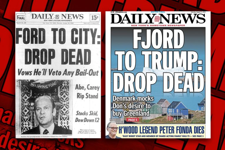ICYMI: Daily News serves up 'Fjord to Trump: Drop Dead' in self-tribute