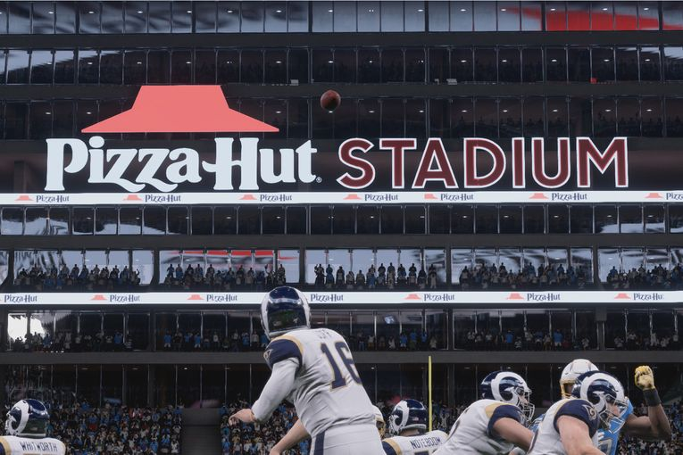Pizza Hut debuts 'first' virtual stadium deal for Madden NFL tournament
