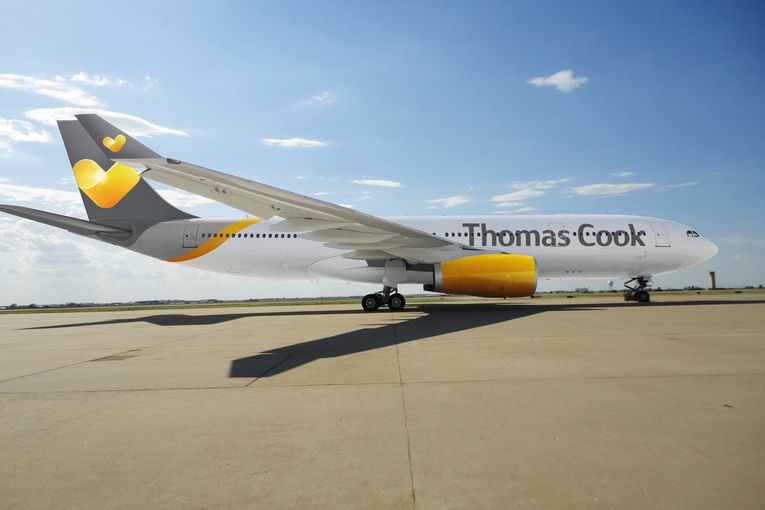 Travel company Thomas Cook collapses, stranding hundreds of thousands
