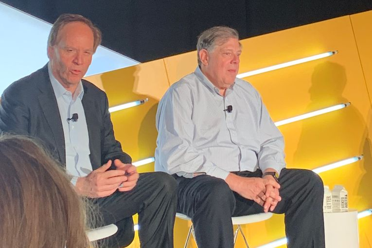Harris Diamond and Mark Penn square off at Advertising Week