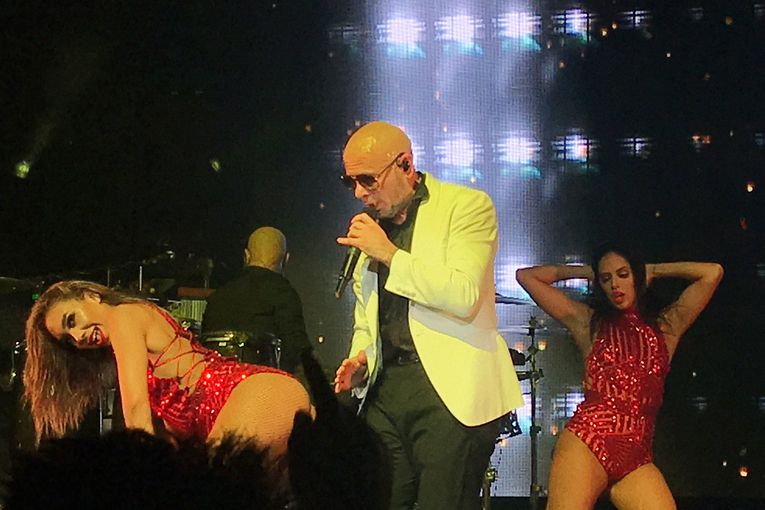 Advertising Week's Pitbull concert undermines a week of equality talk, say critics