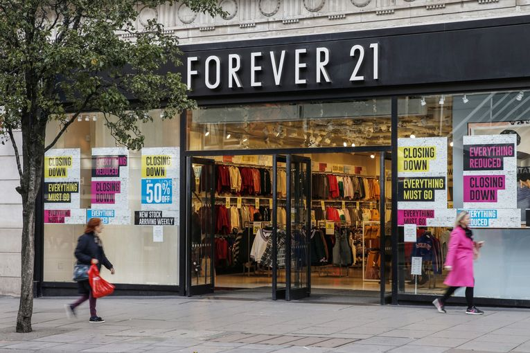 Forever 21 saves one third of condemned U.S. stores after renegotiating rents