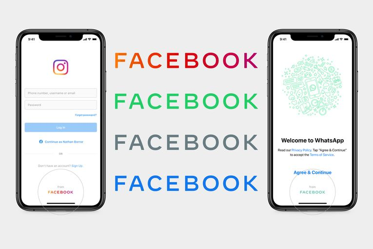 Facebook's new logo brings its besieged family of apps together