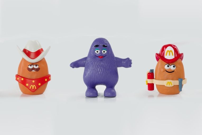 McDonald's: Resurrected Happy Meal toys