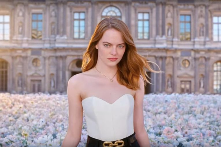 This dreamy commercial for Emma Stone, starring Emma Stone, also hypes a fancy fragrance from Louis Vuitton