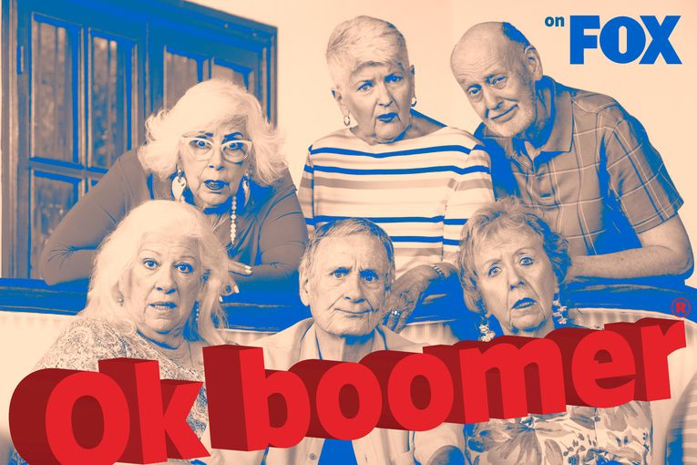 Fox files trademark for 'OK boomer'