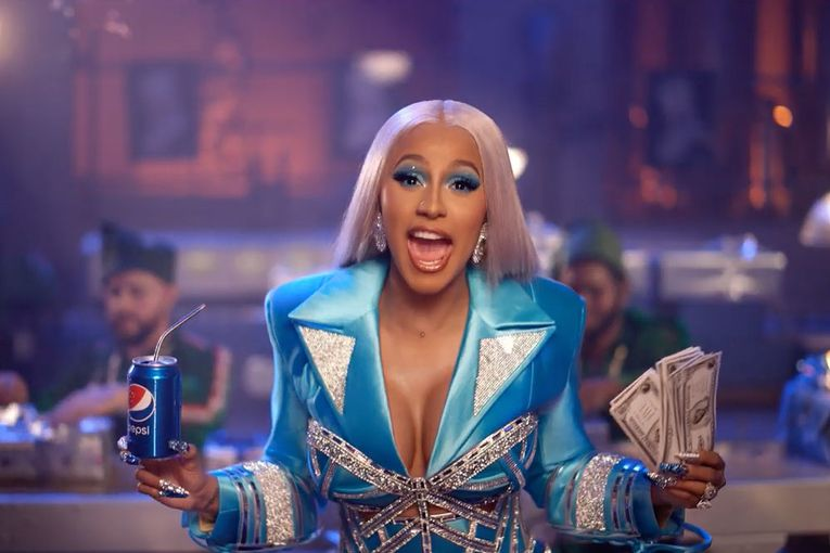 Pepsi's marketing VP on Cardi B and the soda's new 'culture in, brand out' approach
