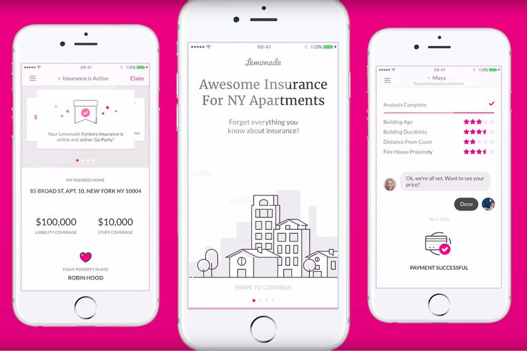 Insurance startup Lemonade poaches Casper's chief marketing officer