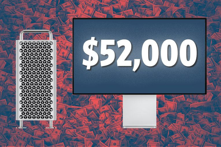 Apple's new Mac Pro can cost $52,000. That's without the $400 wheels