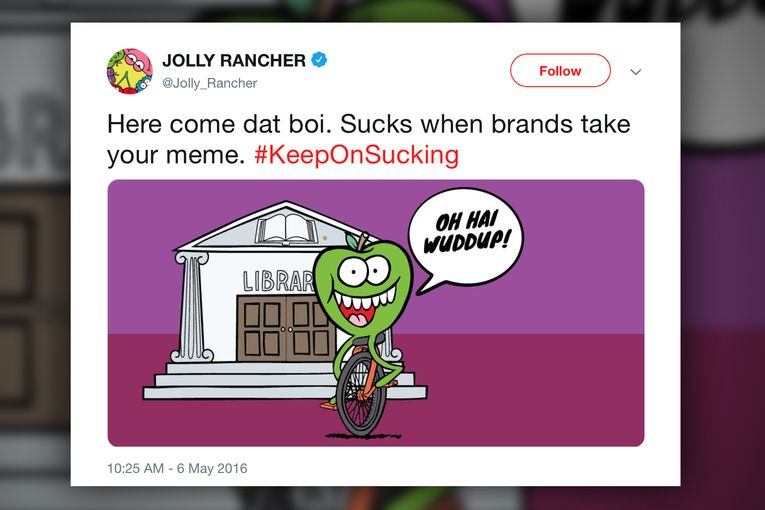 A timeline of brands' 10-year love affair with memes