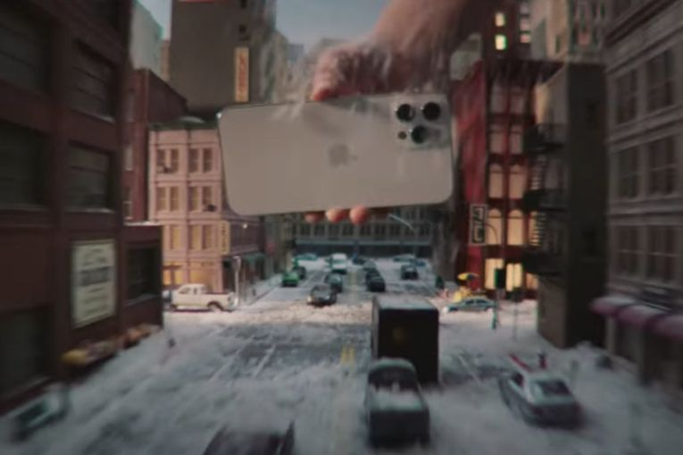 IPhone 12 Pro ad shows Hollywood magic in the palm of your hand