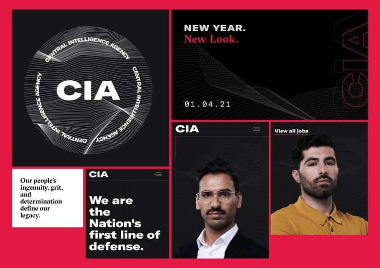CIA's rebrand likened to that of a millennial pop-up shop