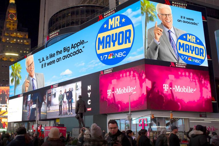 NBC's 'Mr. Mayor' promo campaign is a love letter to Los Angeles
