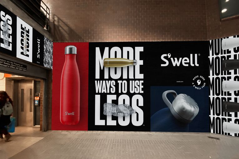 S'well goes beyond the bottle in largest campaign yet