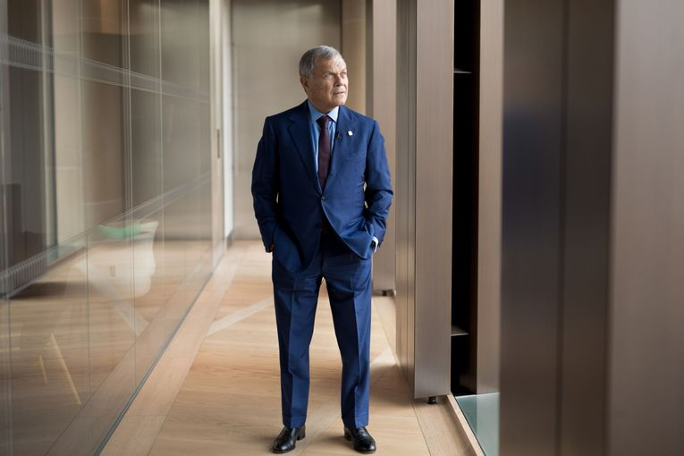 Martin Sorrell gives his usual sales pitch at CES