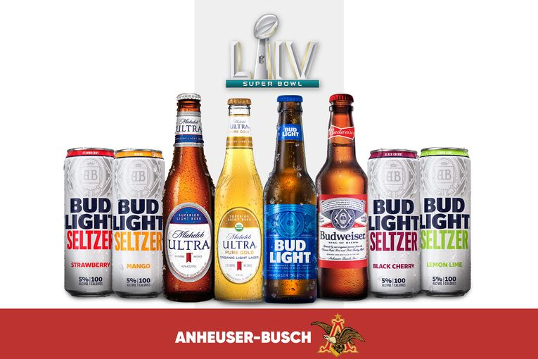 AB InBev reveals Super Bowl commercial plans, including combo spot for Bud Light and Bud Light Seltzer