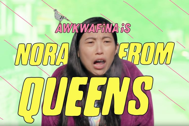 Awkwafina: Nora From Queens 7 Train Voiceover