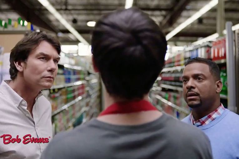 Watch the newest commercials on TV from Bob Evans, Frito-Lay, Snickers and more