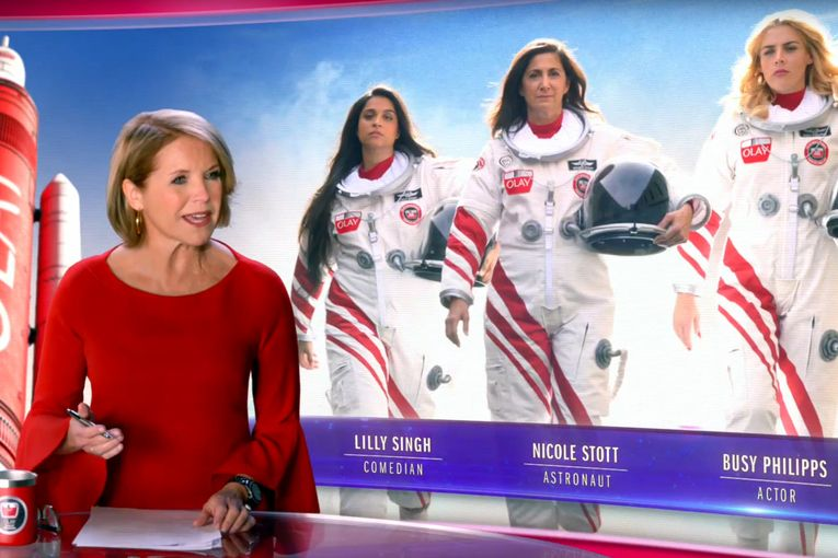 P&G hopes Olay's Super Bowl space mission lands a high gender-equality rating