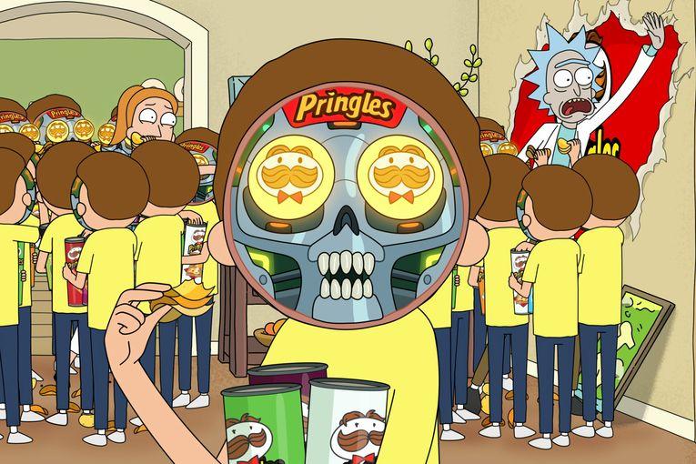 Pringles: Rick and Morty Super Bowl