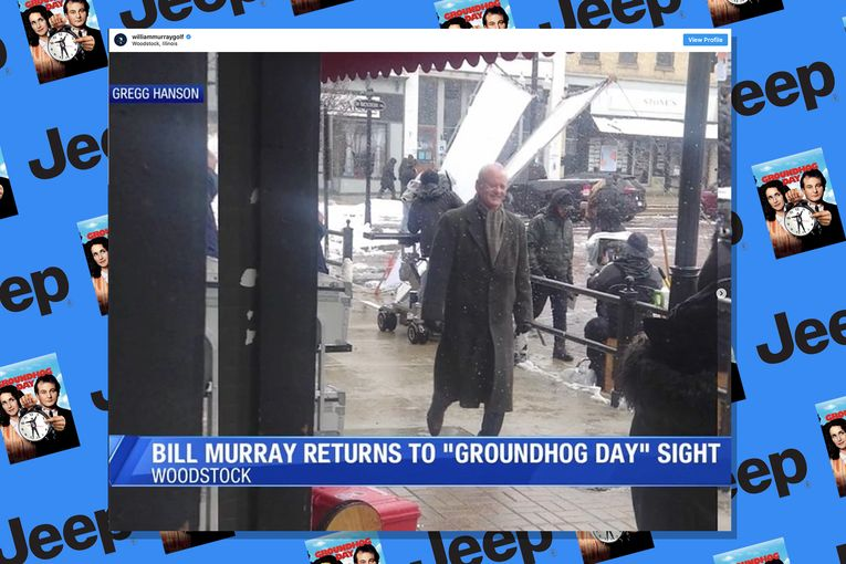 Bill Murray poised to repeat 'Groundhog Day' for Jeep Super Bowl ad