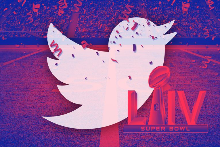 Twitter and NFL will shower the winning team in real-life tweets at the Super Bowl