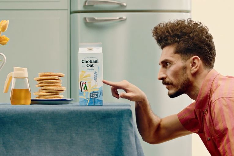 Chobani unveils 'Almost Milk' campaign for new oat-based offerings