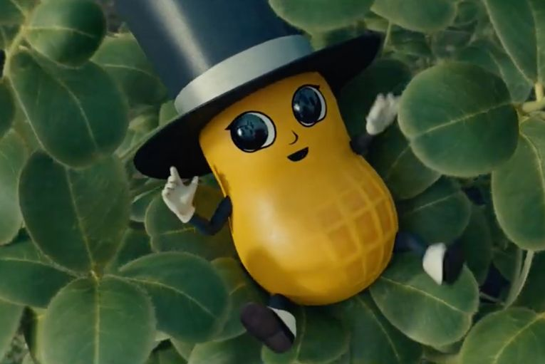 It's Alive! Mr. Peanut is reborn as Baby Nut in Planters' Super Bowl ad