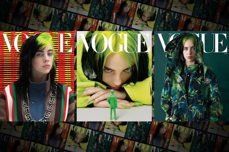 Billie Eilish lands the cover of Vogue three times, with a fourth digital exclusive