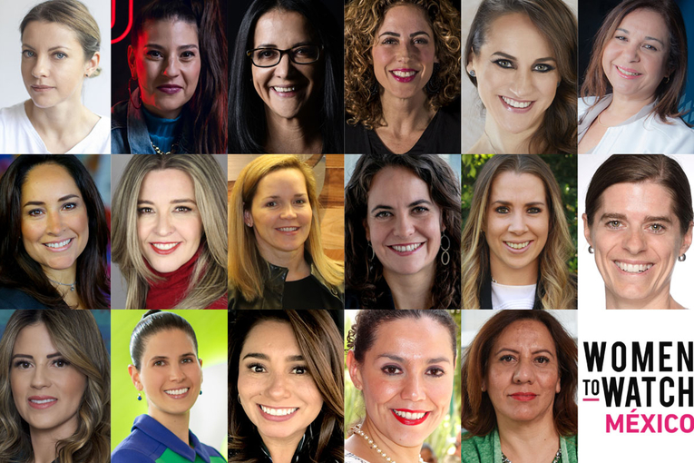 Meet the Women to Watch Mexico 2020 honorees