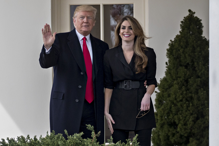 Hope Hicks is leaving her Fox Corp. comms chief job to return to the White House