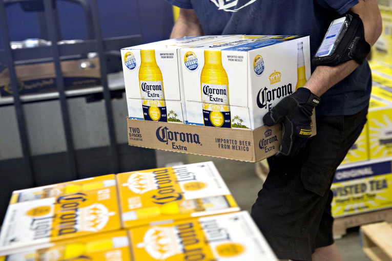 Corona's owner hits back at a survey that suggested it's been hurt by coronavirus