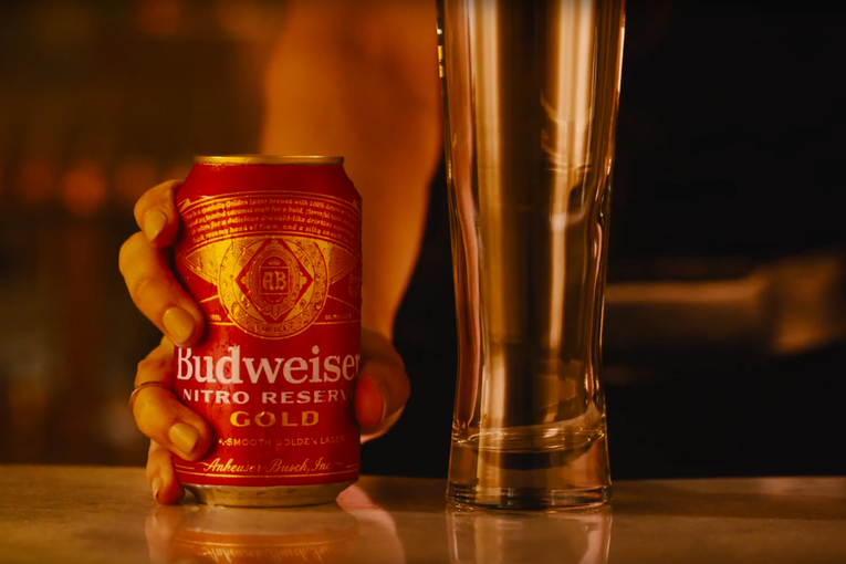 Bud introduces a nitro beer as the style linked with Guinness grows in popularity