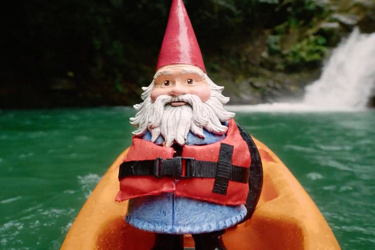 Travelocity's first campaign from new AOR suggests there's no place like gnome