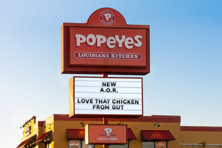Popeyes chooses Gut Miami as its agency of record