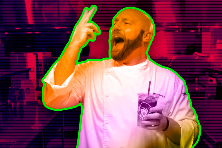 Mike Haracz dishes on becoming a chef, McDonald's Szechuan Sauce and Wendy's breakfast