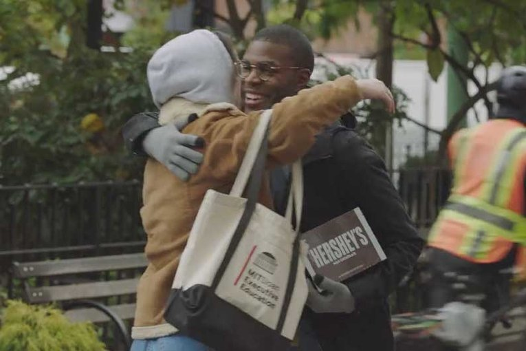 Hershey pulls ads with hugs and handshakes amid coronavirus concerns