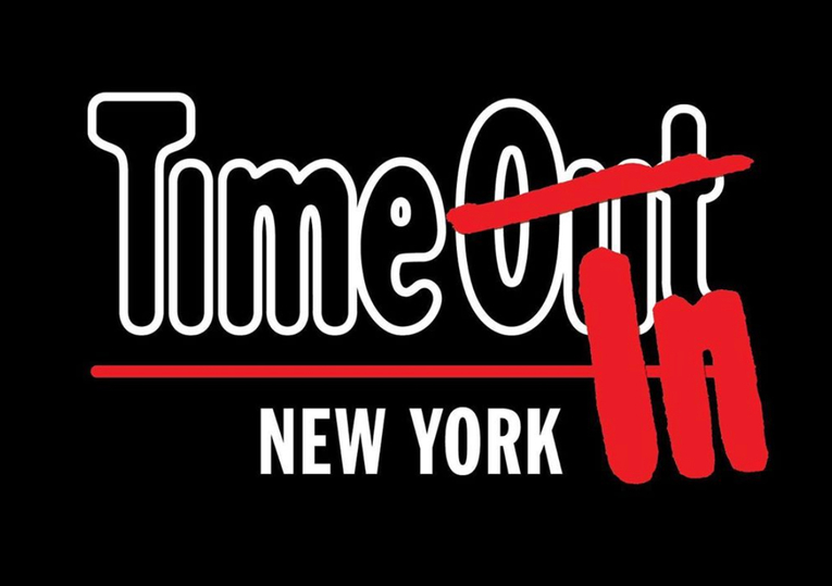 Time Out New York temporarily rebrands as Time In New York