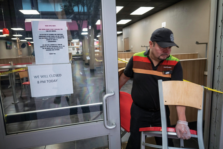 Restaurants lean on delivery as coronavirus delivers a blow to the industry