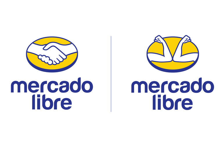 Mercado Libre: Fist Bump Logo