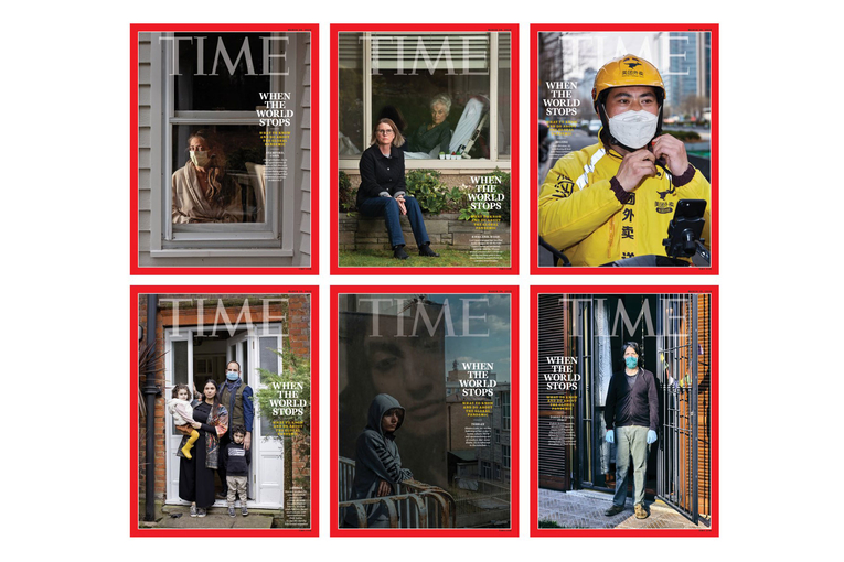 'When the World Stops': See Time's 6 pandemic covers