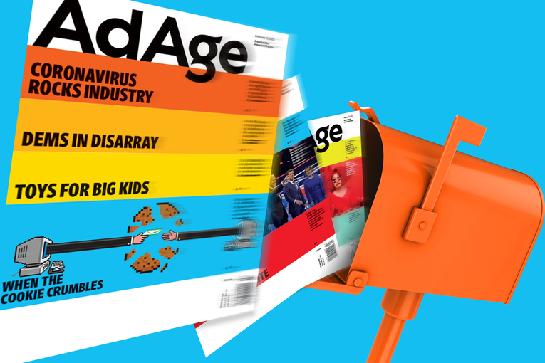 Missing your print edition of Ad Age? Switch to home delivery now
