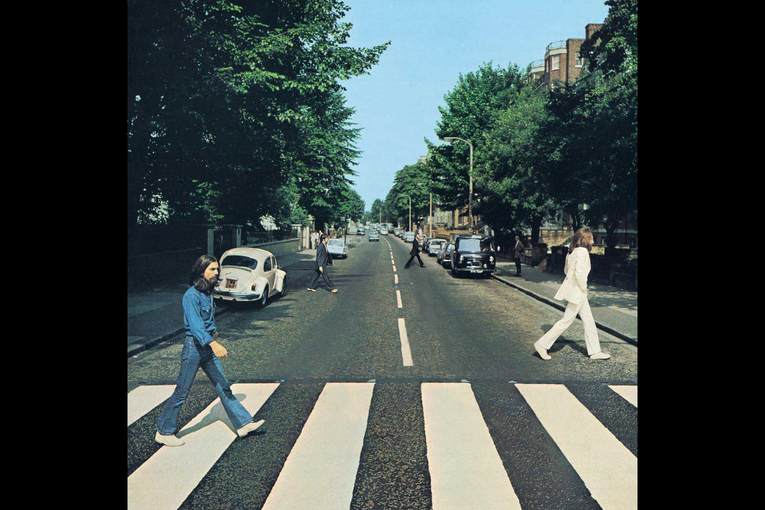 When 'social distancing' hits classic album covers