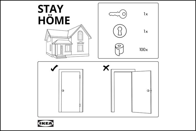 Ikea: Stay Home