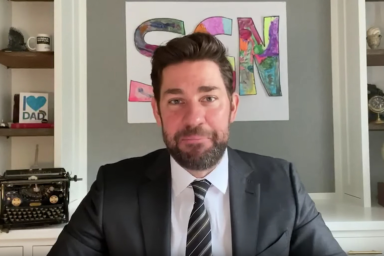 Watch John Krasinski's instant-hit web show 'Some Good News'