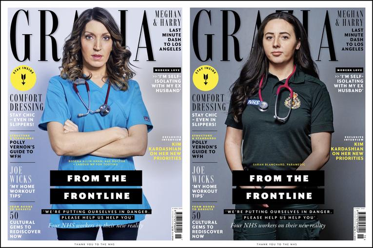 Grazia: From the Frontline