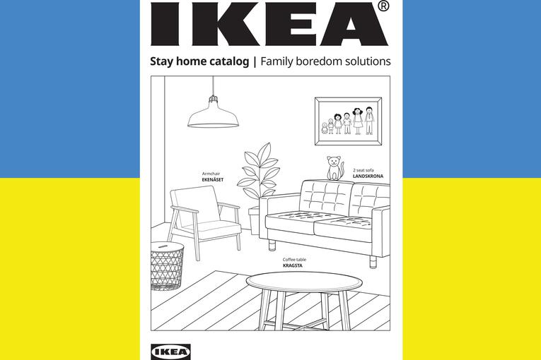 Ikea: Stay Home Catalog